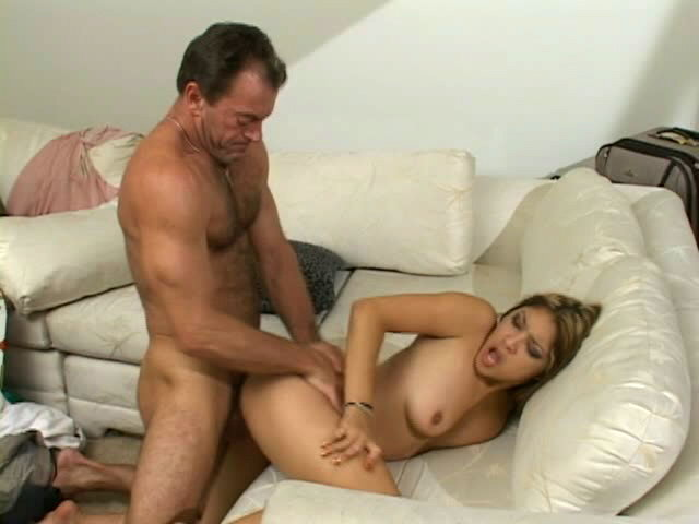 Sweety pornstar Nautica Thorn gets bald beaver drilled by a monster dong